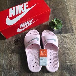 Nike Shoes - ⬇️ Nike Pink Kawa Sliders